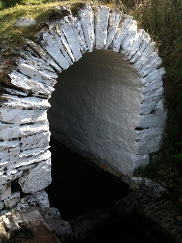 St. Non's Well in Wales. I dipped my hands in the well in September 2009