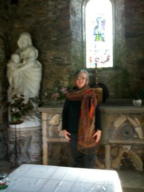 Inside St. Non's Chapel, September 2009