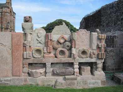 aebbe. Coldingham Lapidarium