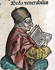 Bede in the Nuremburg Chronicle