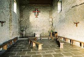 Inside of St. Peter's Church, Bradwell-on-Sea