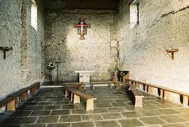 Inside of St. Peter's Church, Bradwell-on-Sea