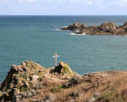 Likely where Columbanus landed near St. Malo, France at Guimoraie on the beach of Guesclin. photo from flicker