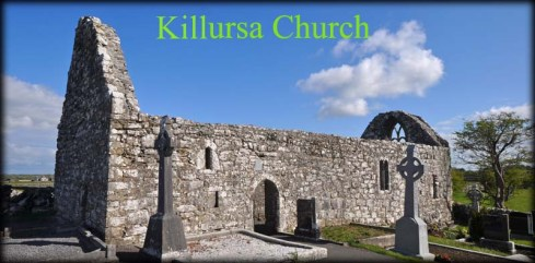 Killursa Church. Likely the location of Rathmat Monastery. photo from Megalitic Ireland