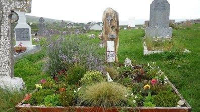 Grave of John O'Donohue, Creggagh Cemetery