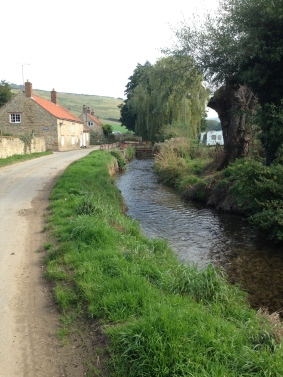 Beautiful idyllic Ellerburn where St. Hilda may have had another monastery or hermitage