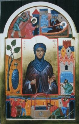 St. Winefrid by Aidan Hart.