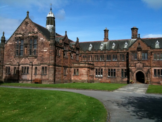 Gladstone's Library, formerly known as St. Deiniol's Library. I stayed there for 3 weeks studying in Sept. 2009