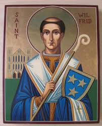 Bishop Wilfrid. icon from CatholicIreland.net