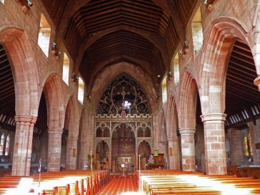St. Bee's Priory nave