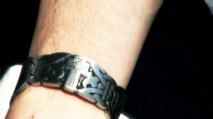 St. Bega of Bees Arm Ring (what it possibly looked like). This arm ring used in the St. Bega video