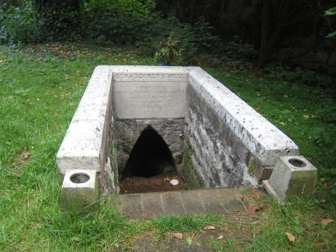 St. Frideswide's Well at St. Margaret's Church, Binsey